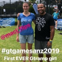 First Ever Female Gtramp Athlete in GTGames in the World.