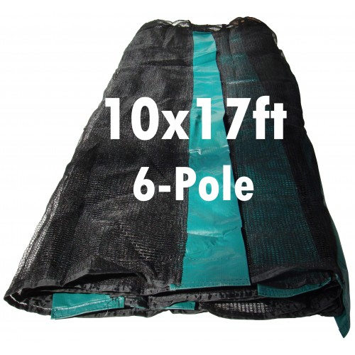 GeeTramp 10x17ft Rectangle Trampoline Net