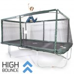 GeeTramp Force 10x17ft Rectangle Trampoline - High Bounce