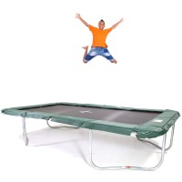 GeeTramp Force 10x17ft Rectangle Trampoline - In Ground - Standard