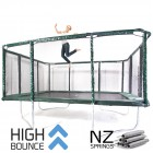 GeeTramp Force 14x16ft Rectangle Trampoline - High Bounce /w NZ Springs