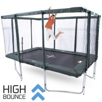 GeeTramp Force 8x12ft Rectangle Trampoline - High Bounce