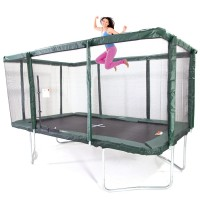 GeeTramp Force 9x14ft Rectangle Trampoline - Standard