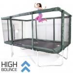 GeeTramp Force 9x14ft Rectangle Trampoline - High Bounce