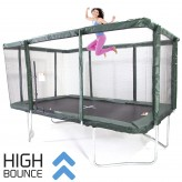 GeeTramp Force 9x14ft Rectangle Trampoline - High Bounce
