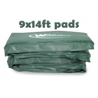 GeeTramp 9x14ft Rectangle Trampoline Pads